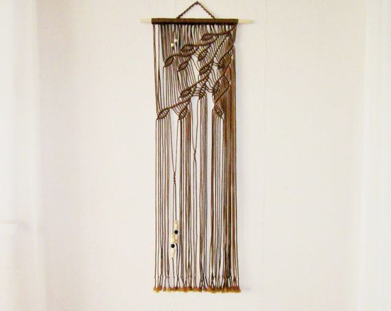 Macrame Wall Hanging - Sprigs #3 - Handmade Macrame Home Decor by Evgenia Garcia