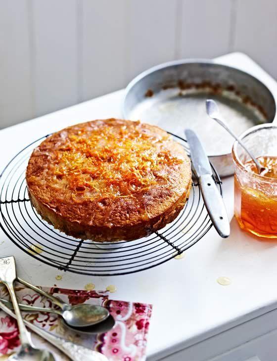 Sticky marmalade drizzle cake  Photo: Martin Poole  Get the recipe: http://sainsburysmagazine.co.uk/recipes/baking/classics/item/quick-marmalade-cake