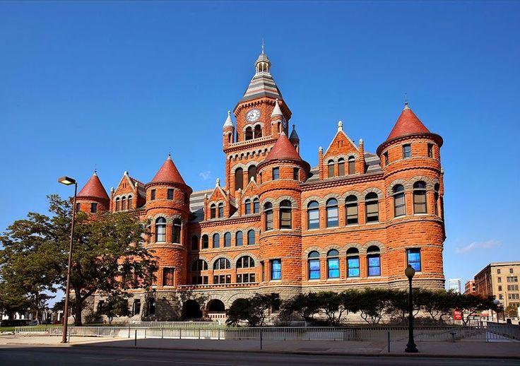Old Red Museum - Dallas, Texas on RueBaRue