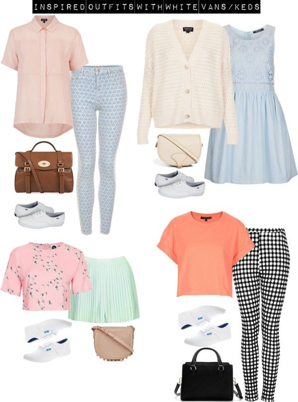 Zoella's Clothes — Inspired with white Keds/Vans by zoella-clothes ...