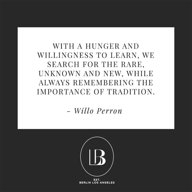 Quote by Willo Perron