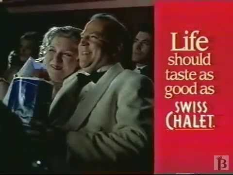 Swiss Chalet - Everyone's a Star Commercial 1999