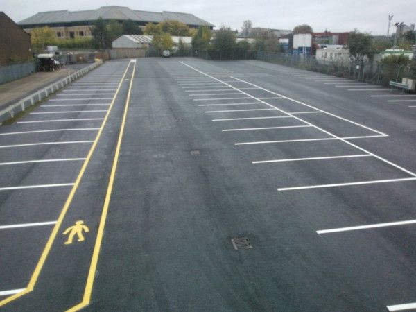 Car Park Marking in Clackmannanshire - If you're looking for car park line markings specialists, we offer services to all kinds of organisations for installing brightly coloured surface paint and durable markings.