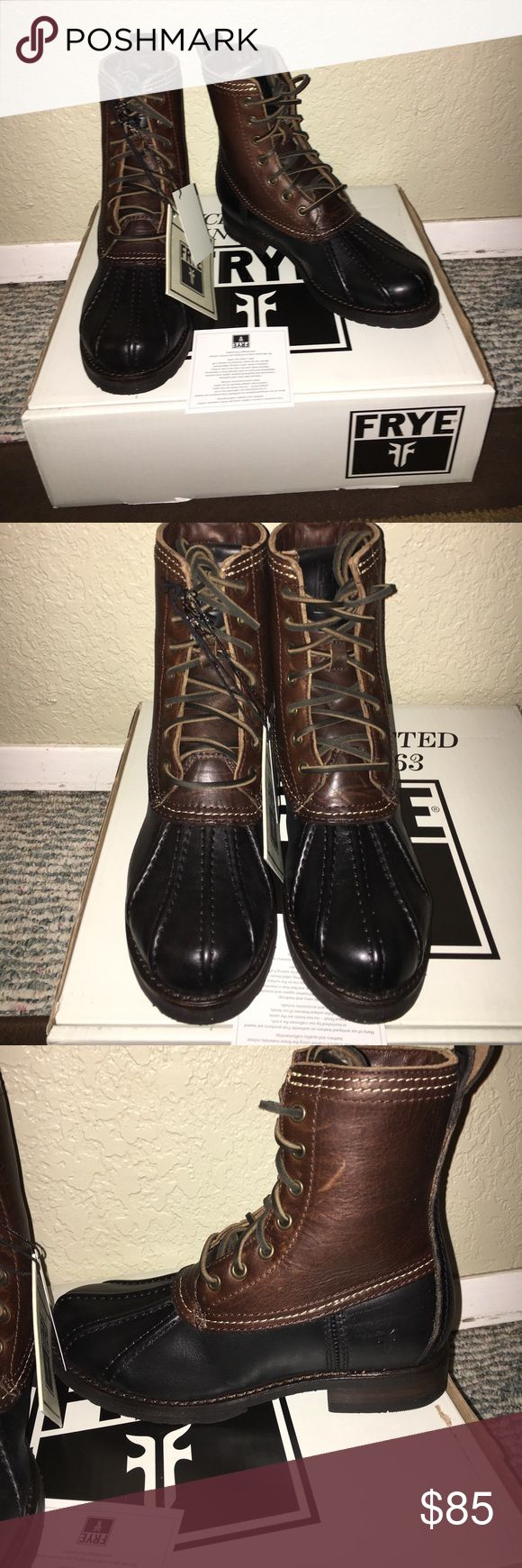 Frye Veronica boots NWT SIZE 6 1/2 Frye Veronica boots size 6 1/2 these are NWT BOOTS DO HAVE A FEW SCRATCHES AS SEEN IN PICTURES THATS THE WAY THEY CAME Frye Shoes