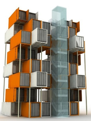 744 best shipping container homes and architecture images on pinterest shipping containers - Diseno de contenedores ...