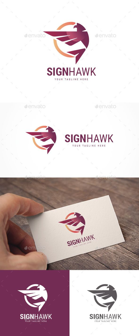 Abstract Sign Hawk #Logo - Animals Logo Templates Download here: https://graphicriver.net/item/abstract-sign-hawk-logo/20045597?ref=alena994