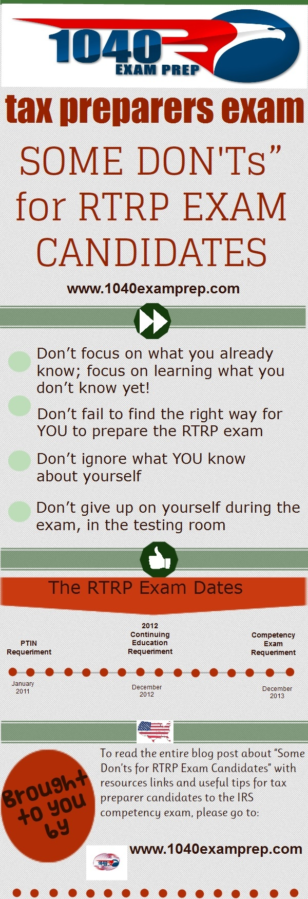 34 best 1040examprep products images on pinterest products four donts for rtrp exam candidates falaconquin