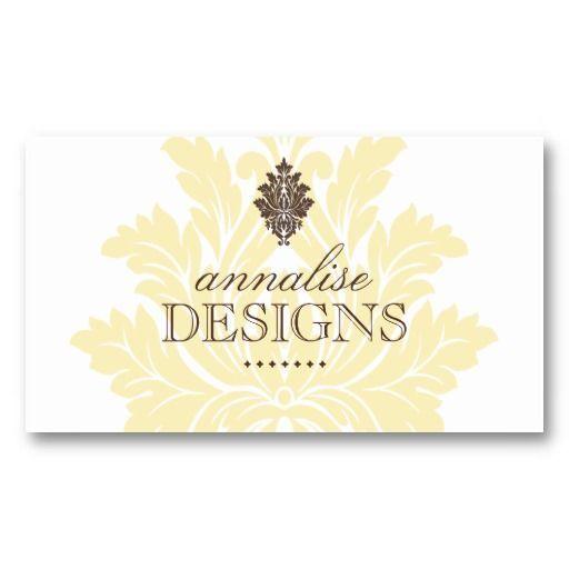Classy Interior Designer Business Cards