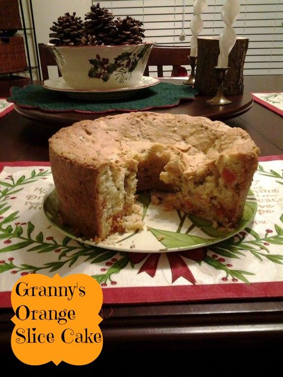 Granny's Orange Slice Cake - Everyday Southern Living