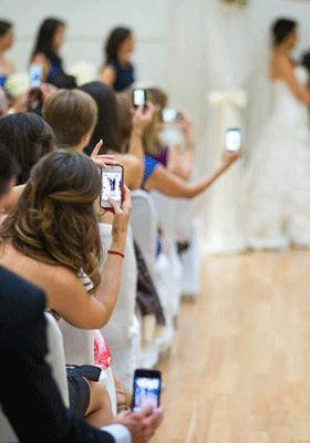 Social Networking- Is it a boon or curse during wedding functions?