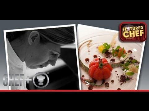 ▶ 3-Michelin star Clare Smyth MBE Restaurant Gordon Ramsay creates a simple yet stunning tomato dish - YouTube