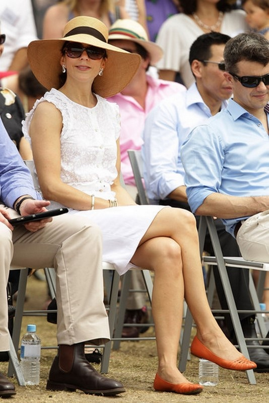 Crown Princess Mary of Denmark, while in Australia, Nov. 2011