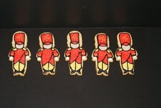 Marching Band Cookies I want some!:)
