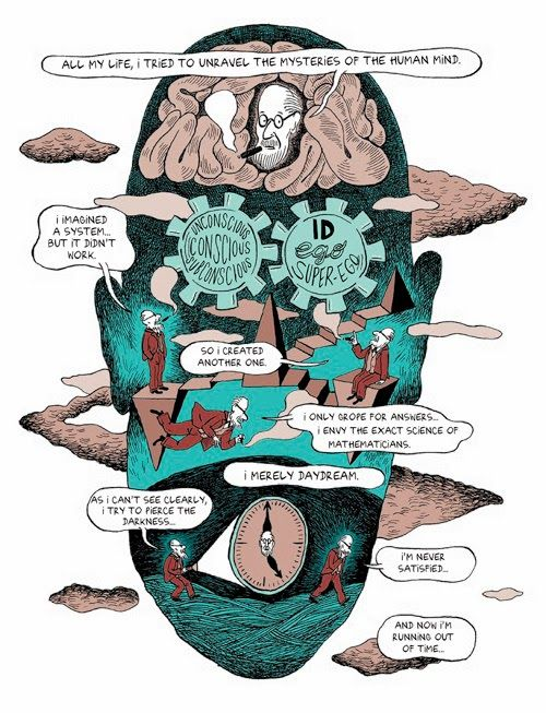 25 best books on freud images on pinterest sigmund freud freuds life and legacy in a comic free excerpts httpfreudquotes fandeluxe Gallery