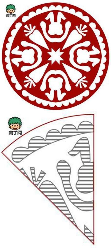 DIY Cute Rabbit Paper Cutting DIY Projects | UsefulDIY.com Follow Us on Facebook ==> http://www.facebook.com/UsefulDiy