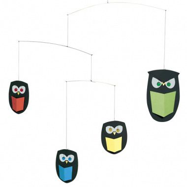 The wisest owls mobile R515 This mobile is a hoot!