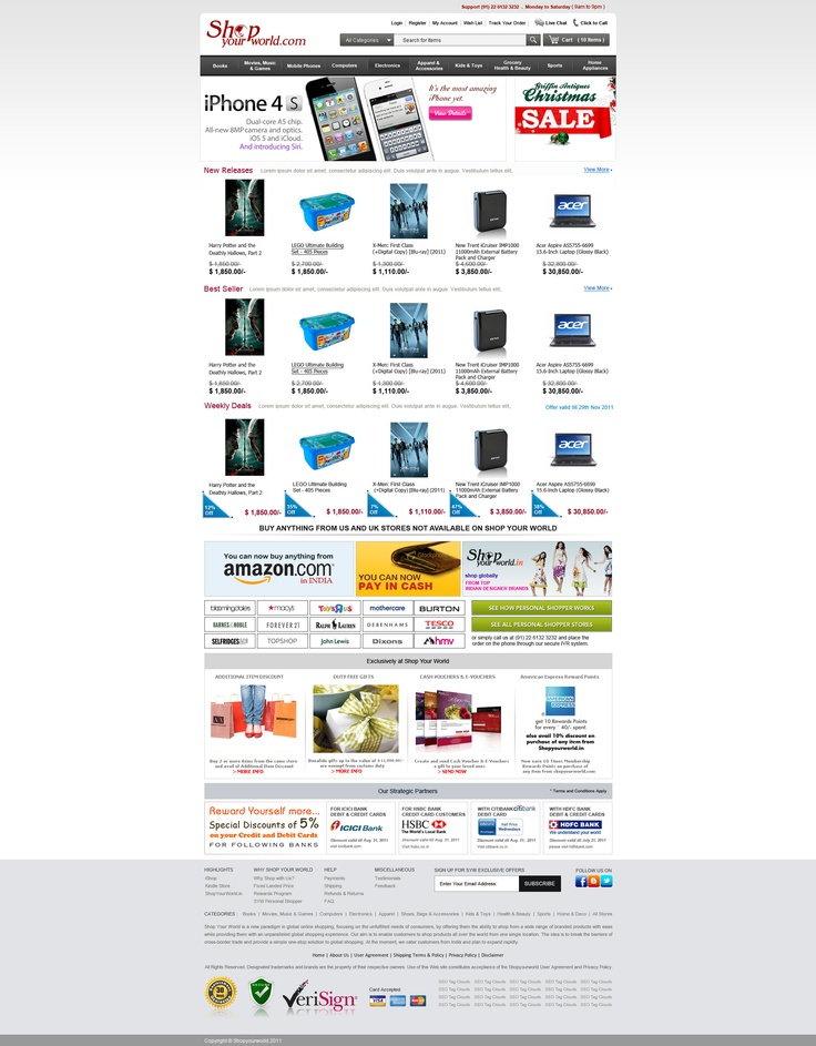 Shopyourworld.com is a one stop destination for all your electronics import needs!