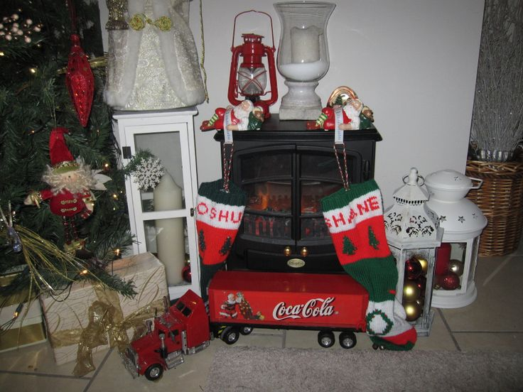 Stockings and Our Coca Cola truck....