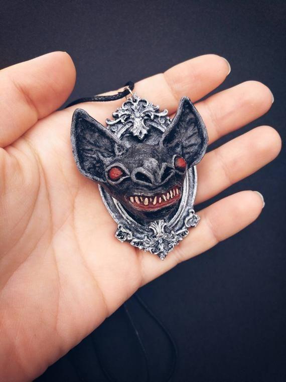 Halloween murciélago perchero vampiro joyas señora pelo joyas accesorios