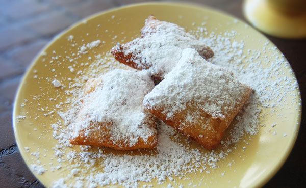 Nothing and I mean nothing is better with coffee than fresh beignets.. um um good, easy step by step with photos...