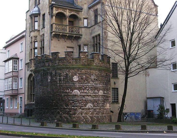 Koeln roemerturm 031204 - Geschichte der Stadt Köln – Wikipedia