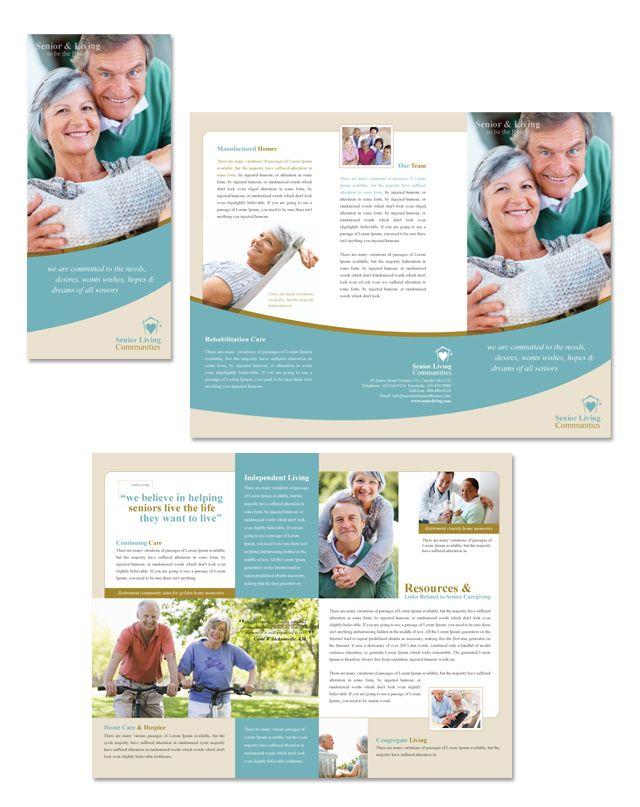 Senior Living Community Tri Fold Brochure Template http://www.dlayouts.com/template/148/senior-living-community-tri-fold-brochure-template