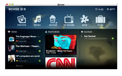10-foot user interface Definition from PC Magazine Encyclopedia - Boxee