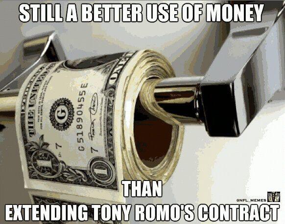 Tony Romo Memes   Terez Owens