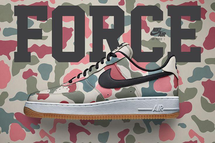 Nike iD Adding 7 Camo Options for the Air Force 1 - EU Kicks Sneaker Magazine