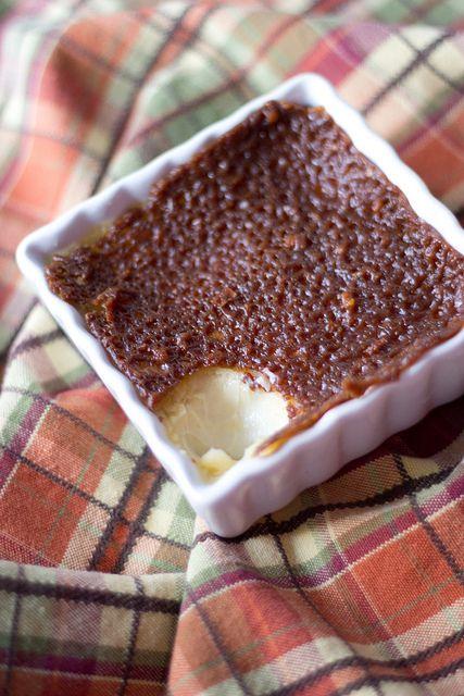 Maple Creme Brûlées with Pecan Praline Snaps   Pots de ...