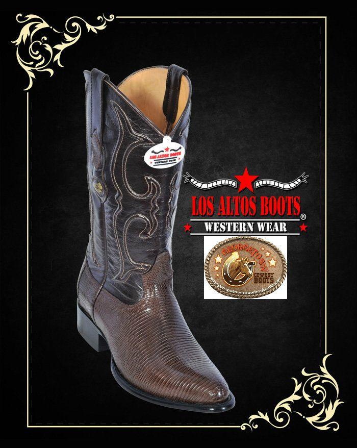 georgetowncowboyboots - Lizard Mens Western Boots Brown Medium Round Toe, D Width by Los Altos Boots 600605, $259.95 (http://www.georgetowncowboyboots.com/lizard-mens-western-boots-brown-medium-round-toe-d-width-by-los-altos-boots-600605/)