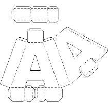 Letras 3d Corte Manual Formatos Png, Sgv, Pdf E Sillhouette                                                                                                                                                      Mais