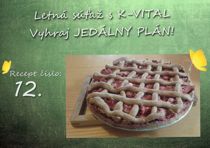 Rebarborovo jahodový koláč od Ivany Repčekovej