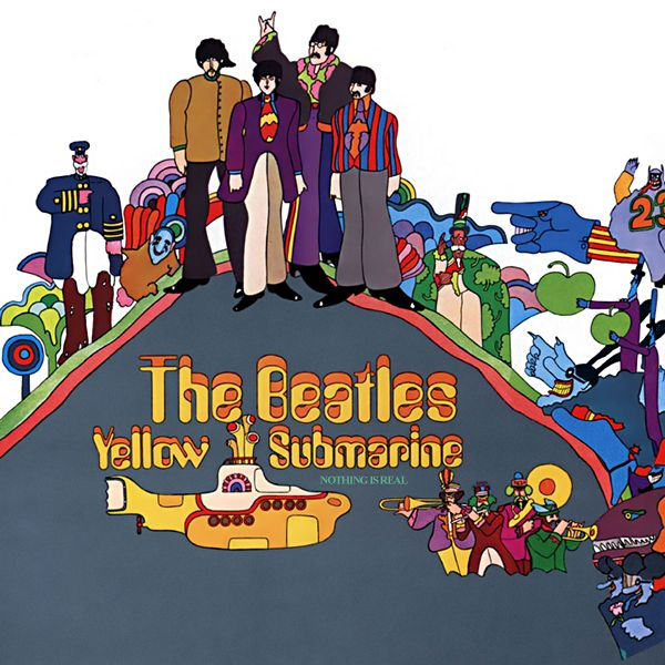 "Beatles Album: 1969: Yellow Submarine - The Beatles' Albums: From ""Please Please…"