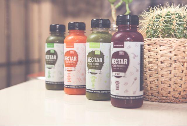 Nectar Juices Branding by BlueMelon Design