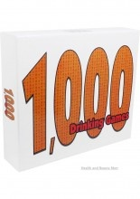 1,000 Drinking Games combines rounds of classic and new drinking games with off-the-wall plot twists and a variety of drink assignments. This set includes all of the popular drinking concepts: dice games, card games, word games, tongue twisters, spinner games, categories, ranking-based games, etc. $13.50