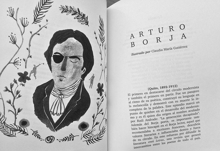 """Ilustración para el libro """"Decapitado"""" de Deidayvuelta Libros, de Ecuador. Tinta sobre papel, 2016."""