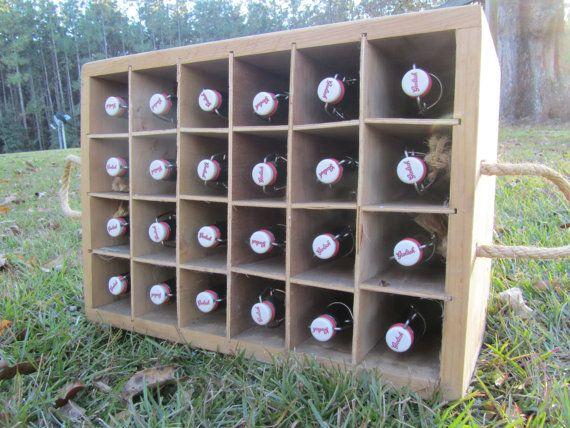 Crate full of bottles grolsch beer bottles by KarensChicNShabby