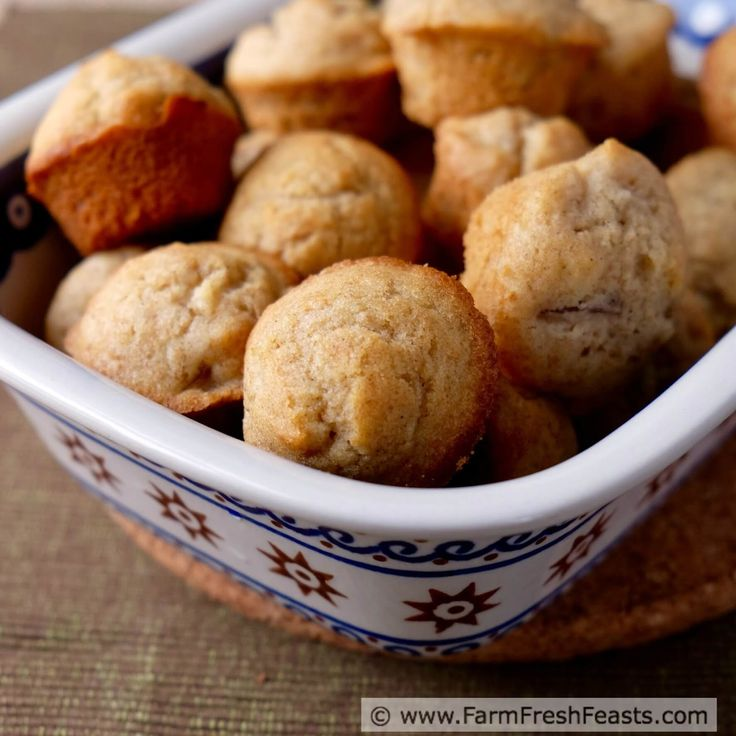 Asian Pear & Cardamom Cream Muffins http://www.farmfreshfeasts.com/2015/10/asian-pear-cardamom-cream-muffins.html