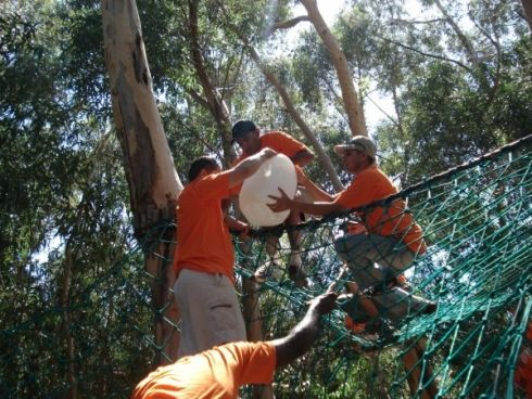 SunScene Outdoor Adventures, Cape Town. The SunScene Adventure Course is a purpose-built high and low ropes activity course located on the scenic Cape Point Route which has operated successfully for corporate, student & school groups over the past 6 years.