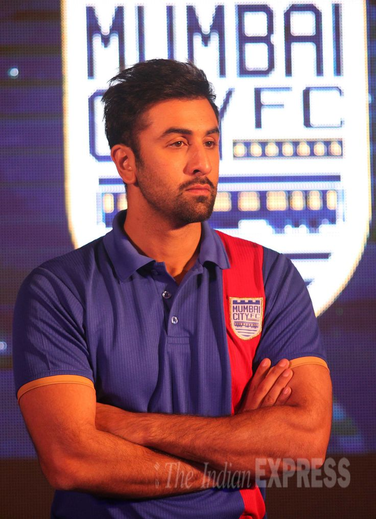 Ranbir Kapoor at the launch of Indian Super League #Bollywood #Fashion #Style #Handsome