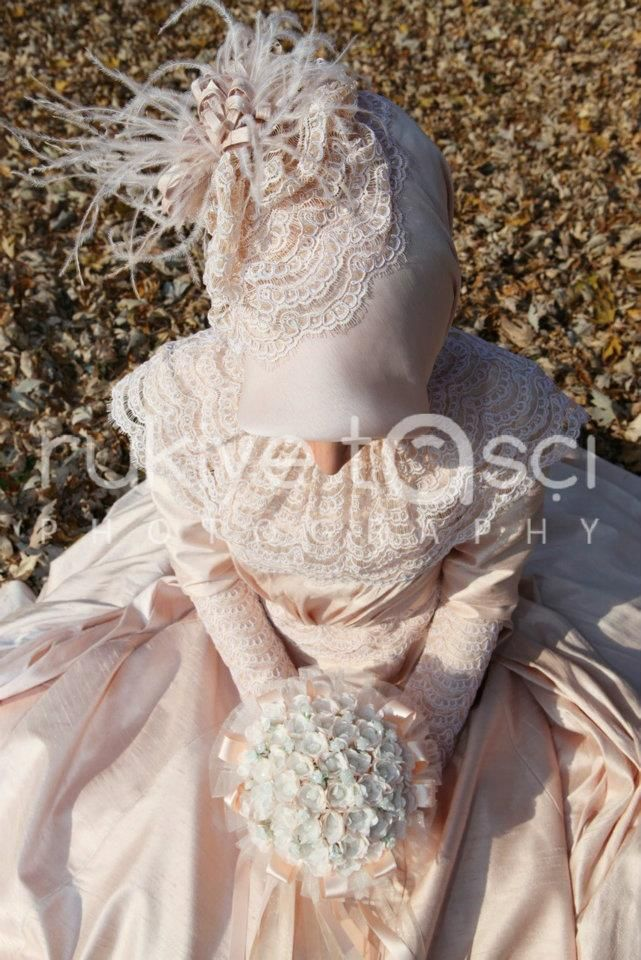 #hijab #nice #beige #wedding #nostalji #girl #covered #pretty #flowers
