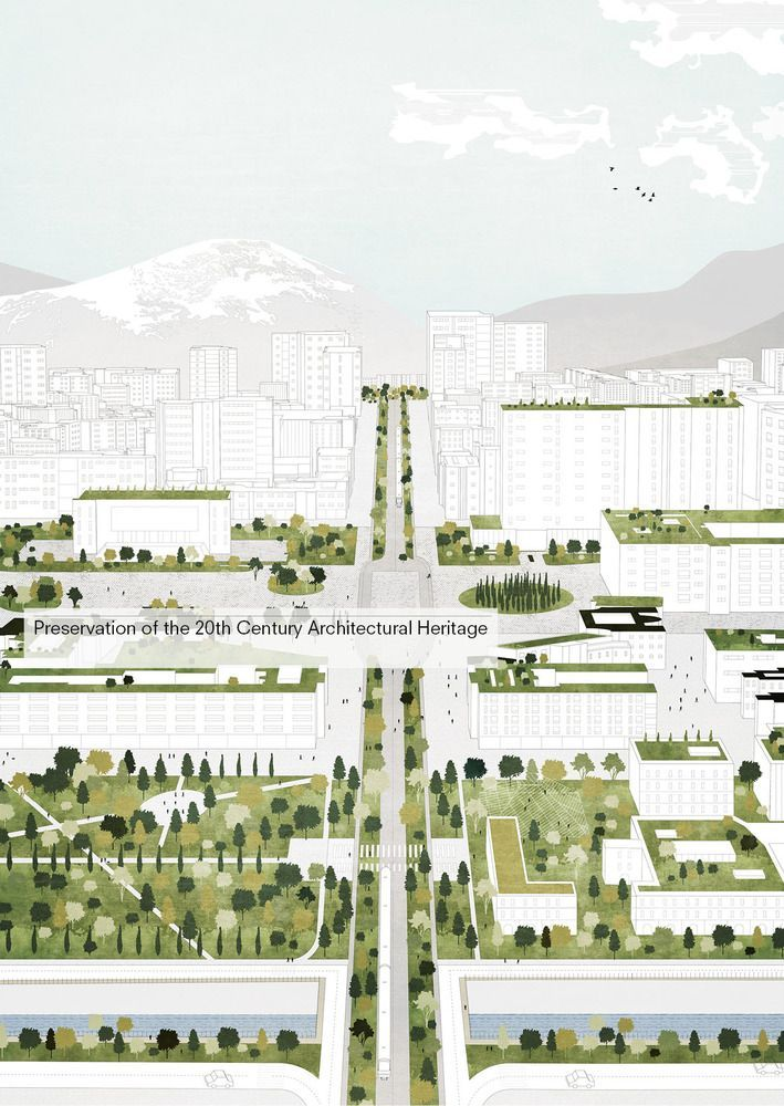 Gallery of Tirana 2030: Watch How Nature and Urbanism Will Co-Exist in the Albanian Capital - 4