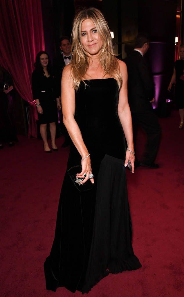 Jennifer Aniston 2018 Golden Globes After Party Pics Coole Kleider Modestil Kleider