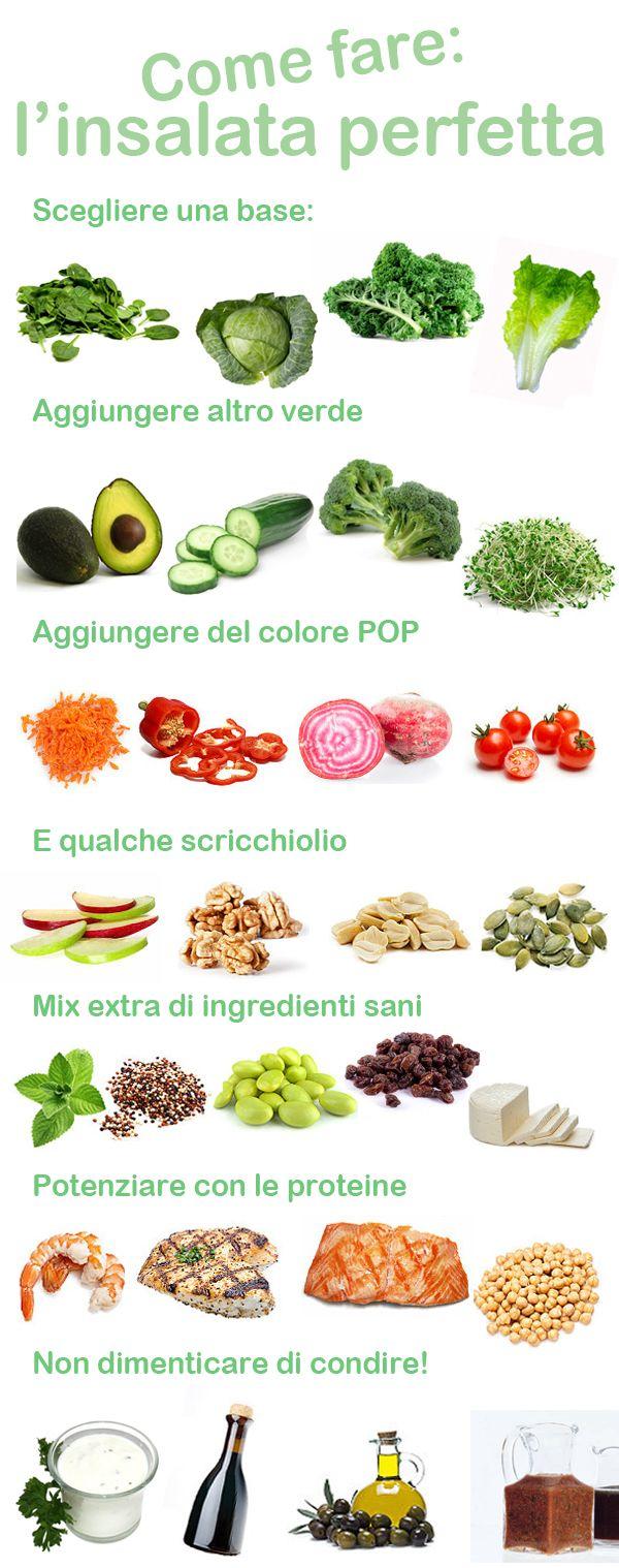 insalata perfetta!