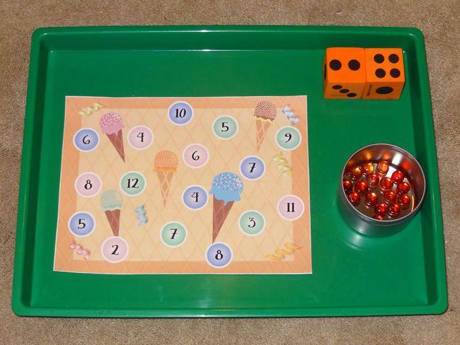 Ice cream dice game || Gift of Curiosity