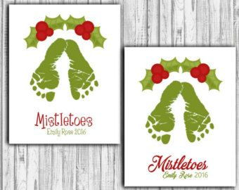 Turn My Child's Footprints and/or Handprints by PitterPatterPrint
