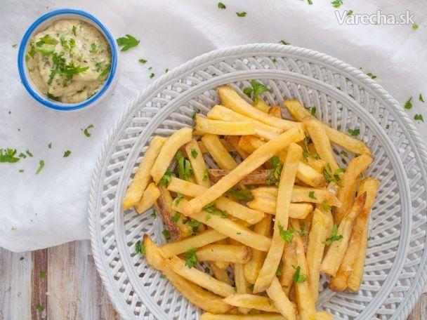 Domáce zemiakové hranolčeky - Recept