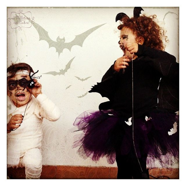 #diy   #halloween   #costumes   #costumeideas   #bat   #mummy #spider   #tutorial   #costume   #mummia   #pipistrello   #ragno