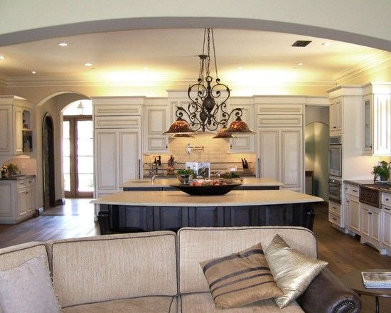 Spaces Open Concept Kitchen Living Room Design, Pictures, Remodel ...